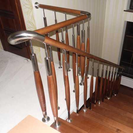 Купить комбинированную лестницу в дом
